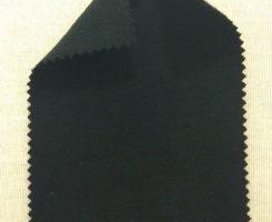 252-PC-Blk Cotton Poly Interlock BLACK