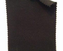 365-OG-Blk Organic Cotton Pique BLACK # 88