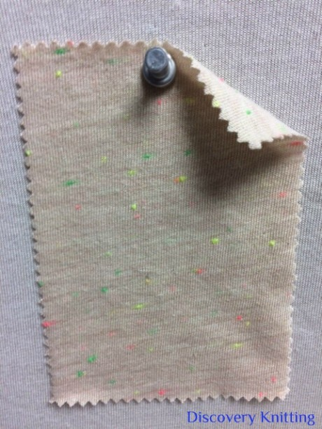 735-CVP-Beig VINTAGE BEIGE Neon Confetti Jersey