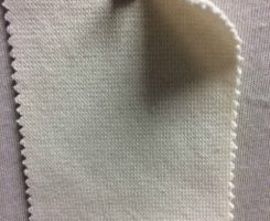 839 T-OGE-SN 1x1 Rib Organic Combed Cotton 2% Lycra  SCOUR NATURAL