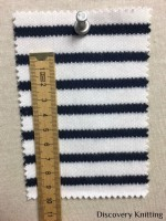 846 S-C Stripe Interlock Optical White/Navy w CM RULER