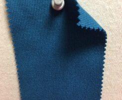 783 T-OG Organic Cotton 1x1 Rib MOROCCAN BLUE # VER 95