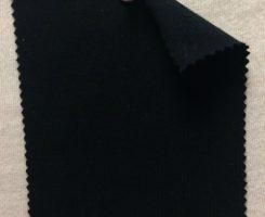788 NB-MOGE Modal Organic Cotton 12% Lycra Jersey BLACK