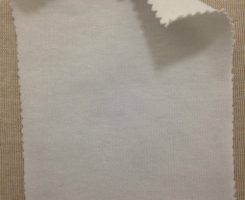 788 N-MOGE Modal Organic Combed Cotton 12% Lycra Jersey OPTICAL WHITE