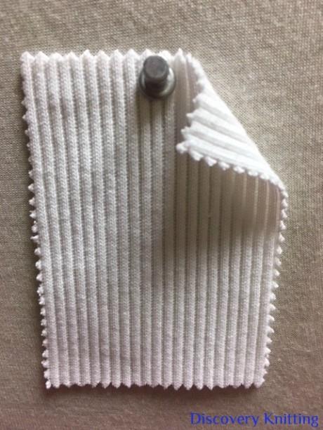 348-OGE-OP Super Heavy Chunky 2x1 Rib Organic Cotton Lycra OPTICAL WHITE