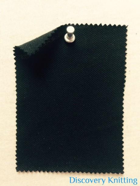 365-OG-Blk Heavy Organic Cotton Pique BLACK