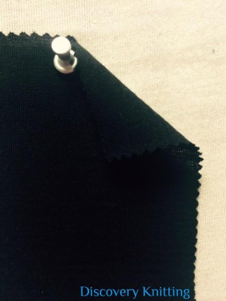999-WZE Mercerized Merino Wool Lycra Jersey BLACK