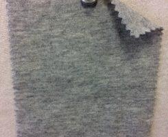 964 G-PCK Recycled Cotton Poly Tencel Jersey LT GREY MELANGE
