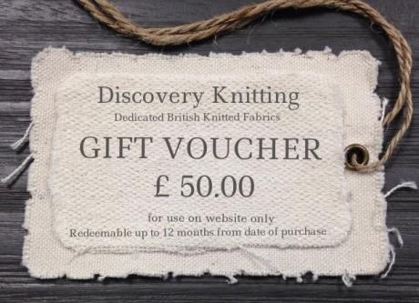 £50. gift voucher