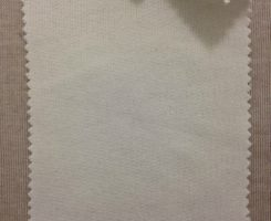 CD 480 LB-C-RW COATED Combed Cotton Loopback Raw White