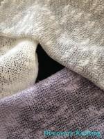 Cobweb Lilac Marl, Grey Marl, Raw White, Black