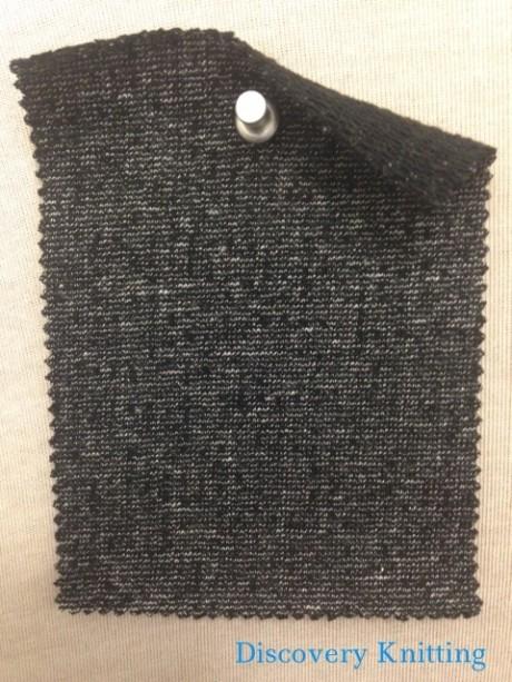 643 LB-C Black Marl with black loop