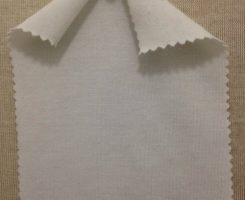 029 -PE  Raw White Poly Lycra Jersey