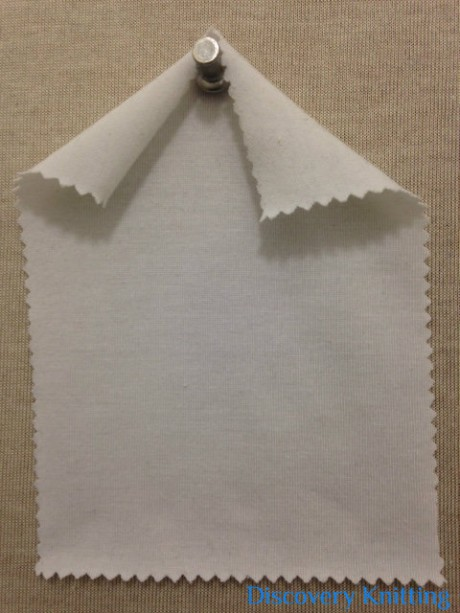 029 -PE  Raw White Poly Lycra Jersey