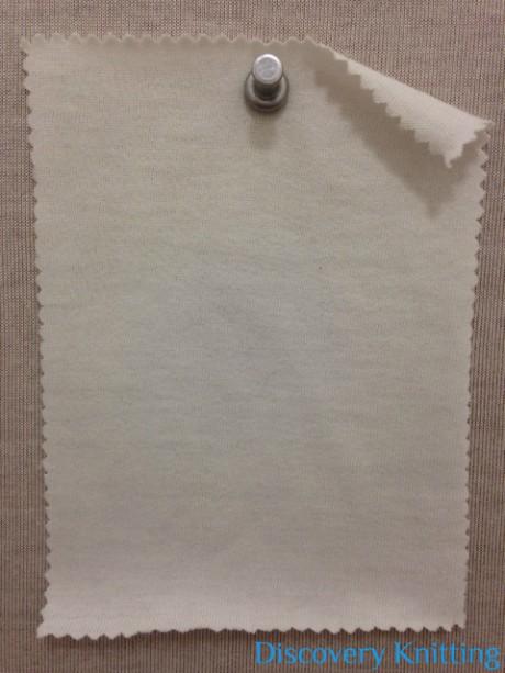 626-OG-RW Organic Cotton Jersey Raw White (non optical)