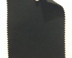 648 N -W-Blk  Extrafine Merino Interlock Black