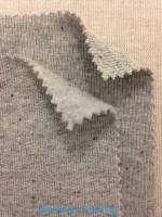 Grey Tweed Fleece 542 FT-CVP-G & Rib 712 T-VCP-G