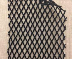 739-CE-Blk   Black Fishnet
