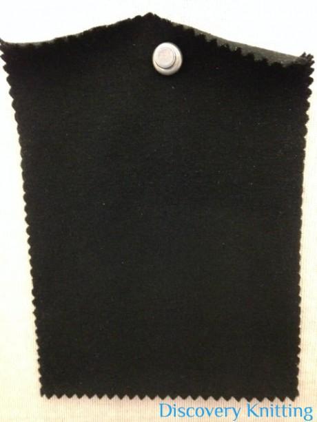 533-OGE  Organic Comed Cotton Lycra Jersey Black