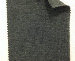 568 -PCE Charcoal Melange Lycra Jersey