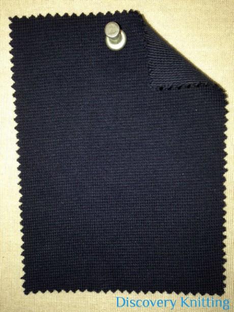 636-CE-Navy 1x1 Lycra Rib Navy #37536