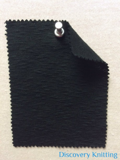771-CN-Blk  Ripple Rib 1x1 Black