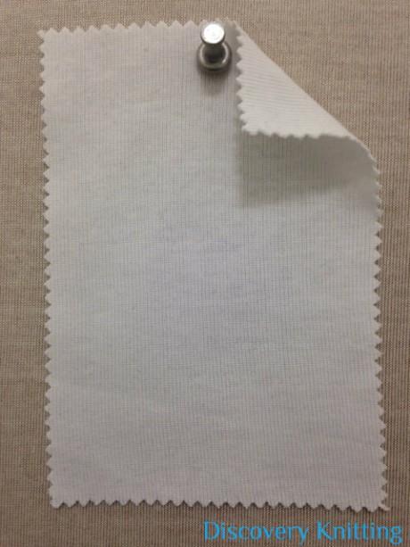 783 T-OG-OP Organic Combed Cotton 1x1 Rib Optical White