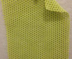 767 -PC-Lime  Cotton Poly Eyelet