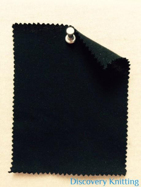 304-OG-Blk Black Organic Cotton Jersey