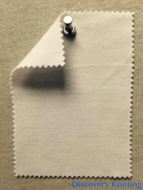 596 T-CM-OP Cotton Modal Interlock Optical White