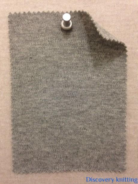 752 G-C  Grey Melange Interlock