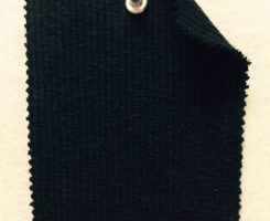 760-CNE-Blk  Ripple Chunky 2x1 Rib  Black