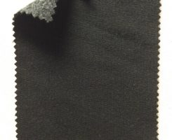 417 FT-CP-BlkC Heritage Fleece Black w charcoal back