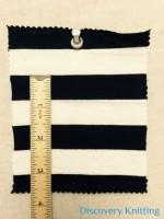 """6267 S-C-BlkOP Jersey Stripe 3/4"""" x 3/4"""""""