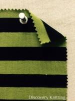 809 S 6 -VPE-LimBlk Stripe Jersey Lime/Black