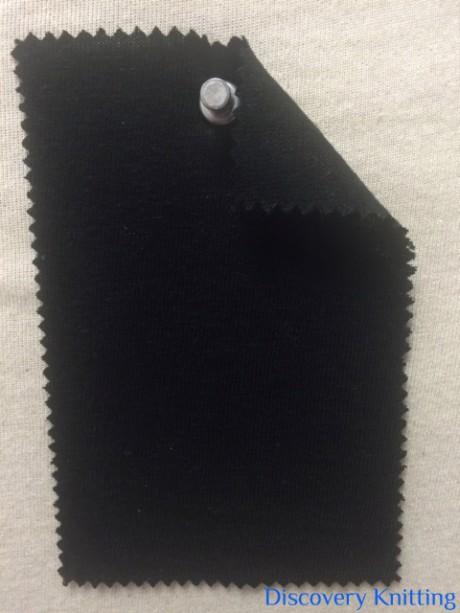 315-VL-Blk Viscose Linen Jersey Black