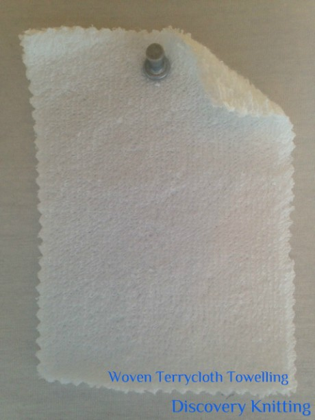 WT 8565-CP-OP Woven Terrycloth Towelling Cotton Optical White