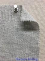 845 G-MP Knitwear Double Jersey Lt Grey Heather