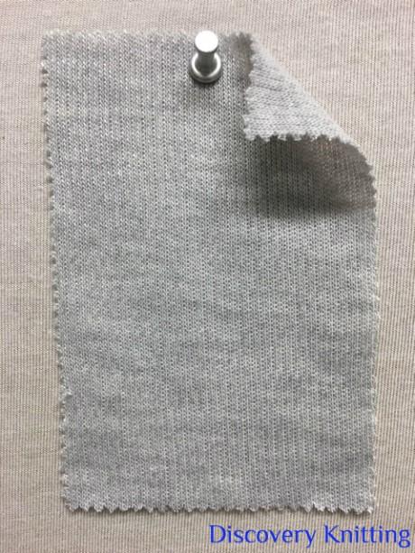 845 G-MP Knitwear Double Jersey Lt Grey Melange