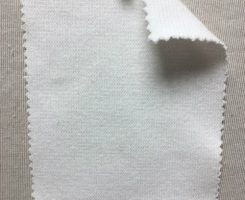 839 T-OGE -RW  Raw White 1x1 Heavy Rib Organic Cotton Lycra