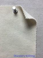 847-CH-SN MELTON KNIT Cotton Cashmere 90/10 ECRU