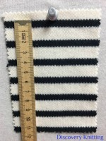 846 S-C-EBlk Stripe Heavy Interlock CM Ruler