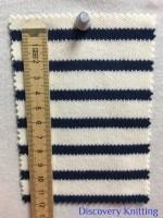846 S-C-ENvy Stripe Heavy Interlock CM Ruler