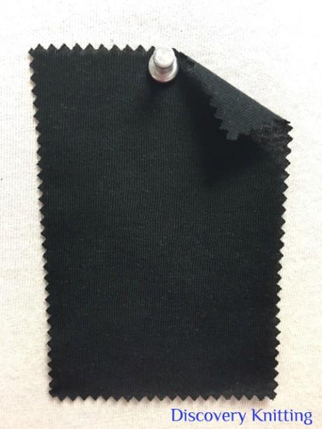 514 -MMH -Blk  Classic Micro Modal Cashmere Jersey  BLACK
