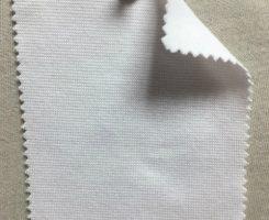 813 T -OGE -OP Organic Cotton 2% Lycra 1x1 Rib OPTICAL WHITE Tubular