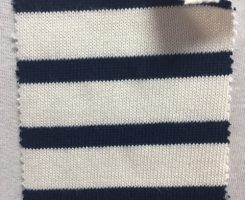865 S-OGC  Salcombe Jersey Breton Stripe Natural /Navy
