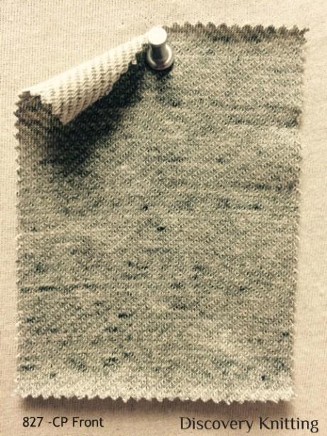 827 -CP Reversible Horizontal Herringbone Lt Vintage Grey/Nat FRONT