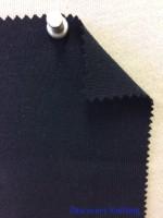 861 -OG -Navy # 43500A Organic Cotton 1x1 Rib