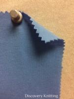 626 T -OG-SBlu SKY BLUE # 27  Organic Cotton Jersey