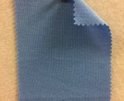 861 T-OG-SBlu  SKY BLUE # 27  Organic Cotton 1x1 Rib